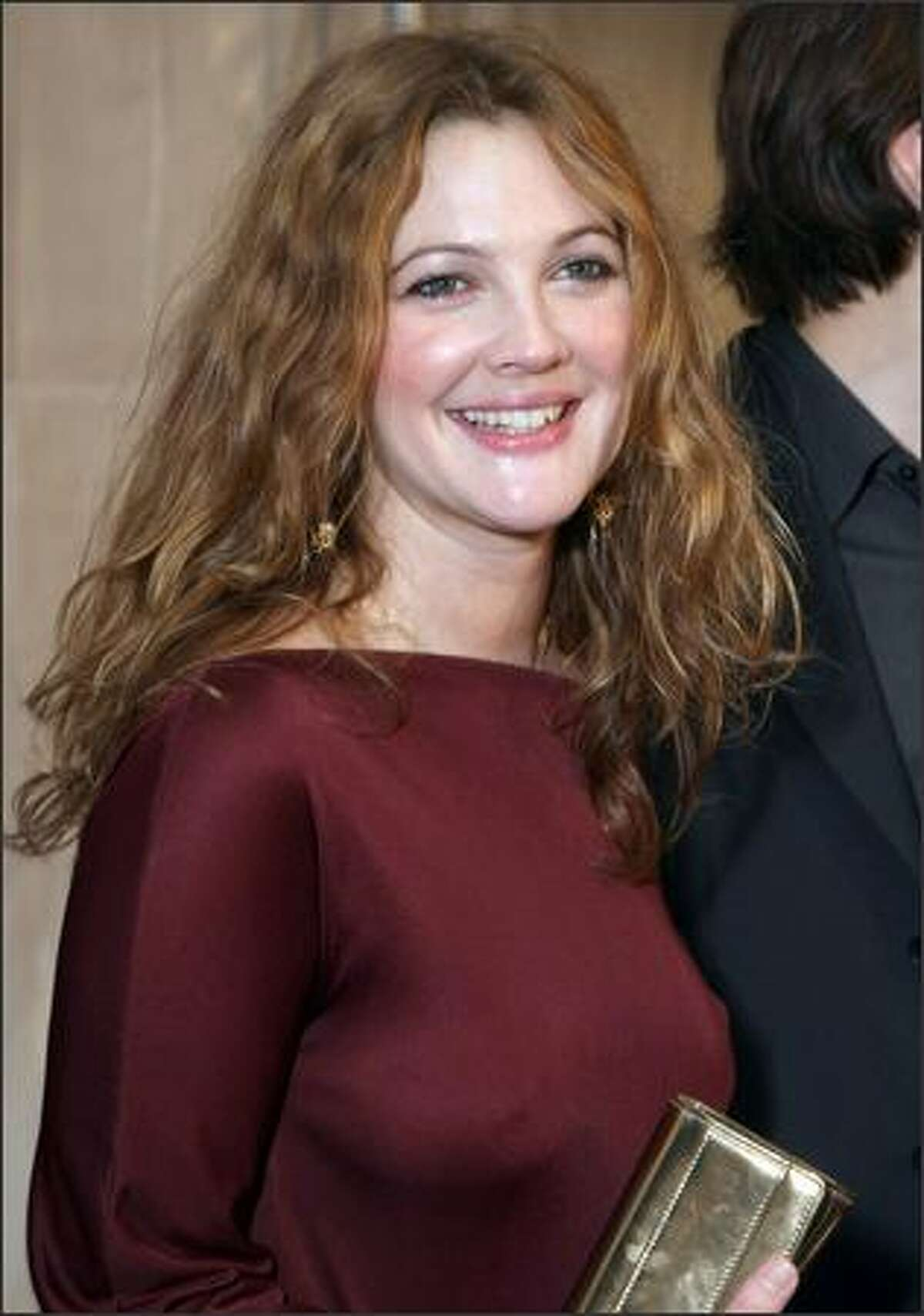 Actress Drew Barrymore arrives at Picture House's premiere of