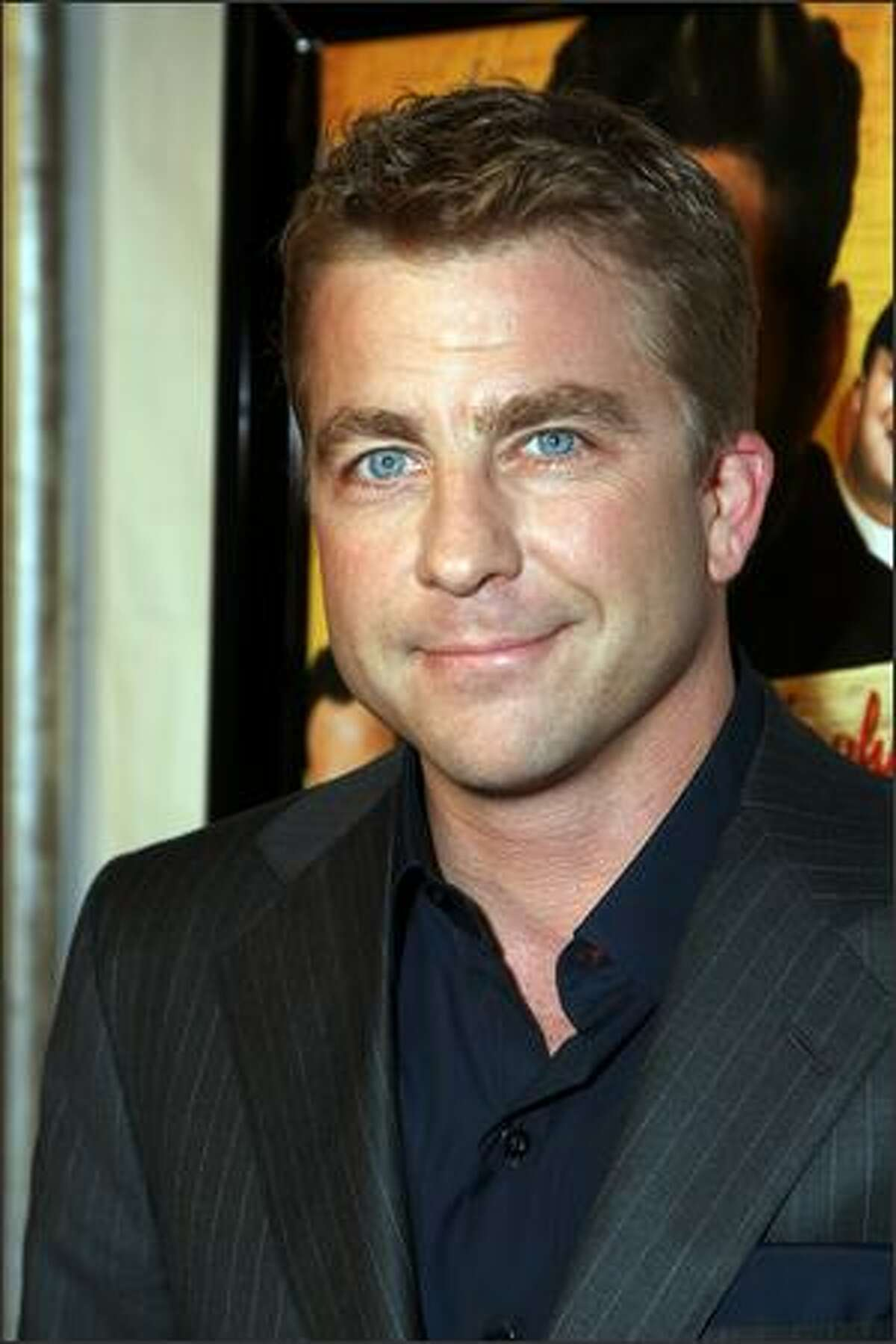 Producer Peter Billingsley arrives at Picture House's premiere of