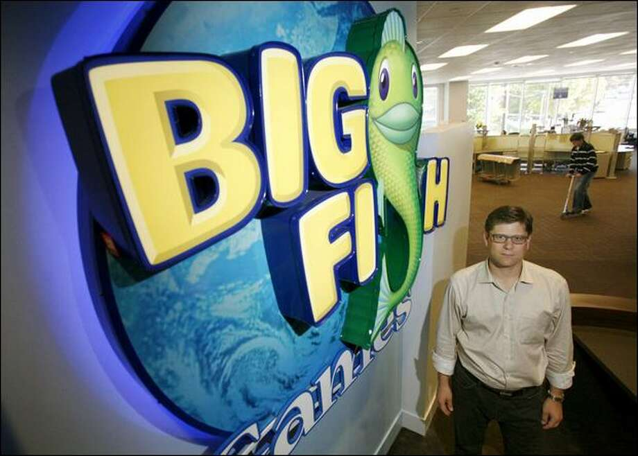 "Jeremy Lewis, CEO of Big Fish Games, says the $83.3 million in funding will provide ""strategic flexibility"" to the already profitable company. Photo: Paul Joseph Brown/Seattle Post-Intelligencer"