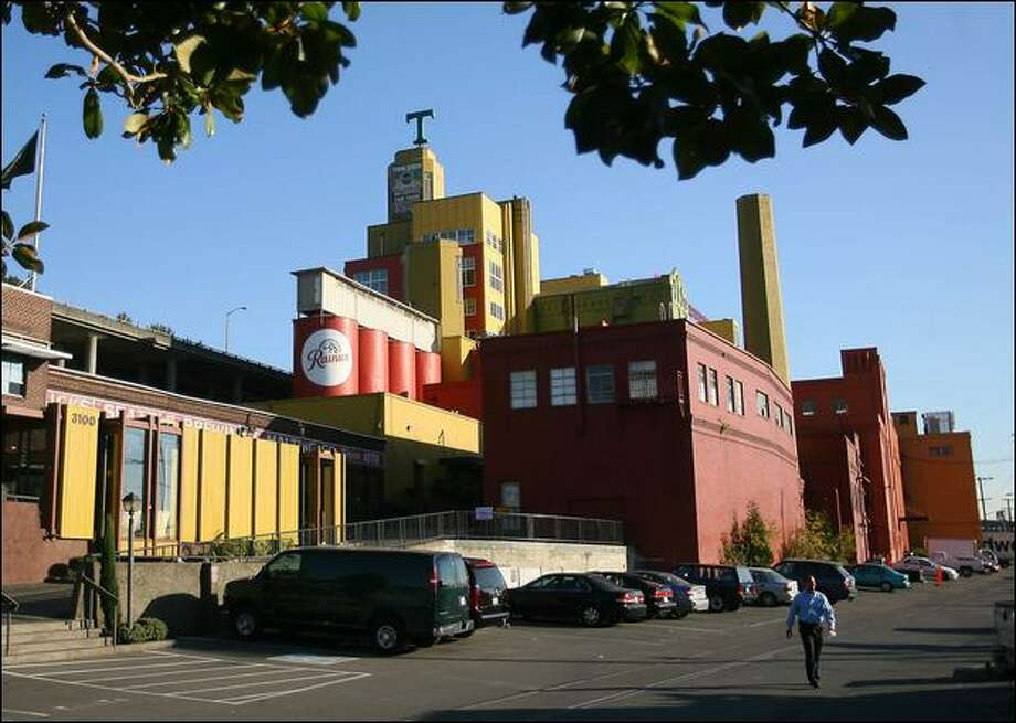 Tully's Coffee headquarters and employees will stay at the former Rainier Brewery in Seattle even after the pending sale to Green Mountain Coffee Roasters. Photo: Scott Eklund/Seattle Post-Intelligencer