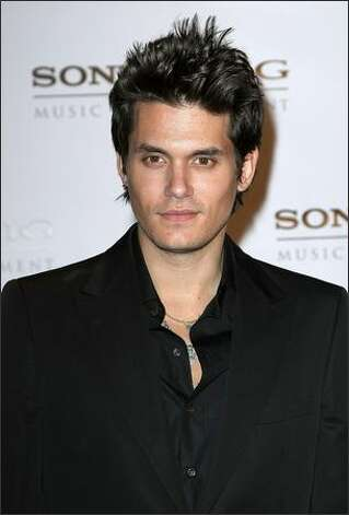 Musician John Mayer arrives at the Sony BMG Music party. Photo: Getty Images