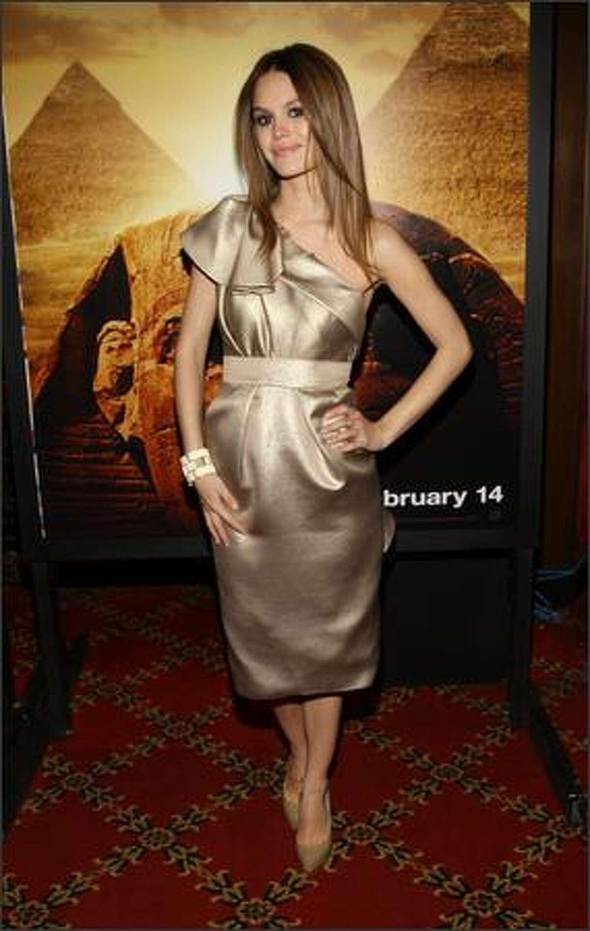 Actress Rachel Bilson attends the premiere of