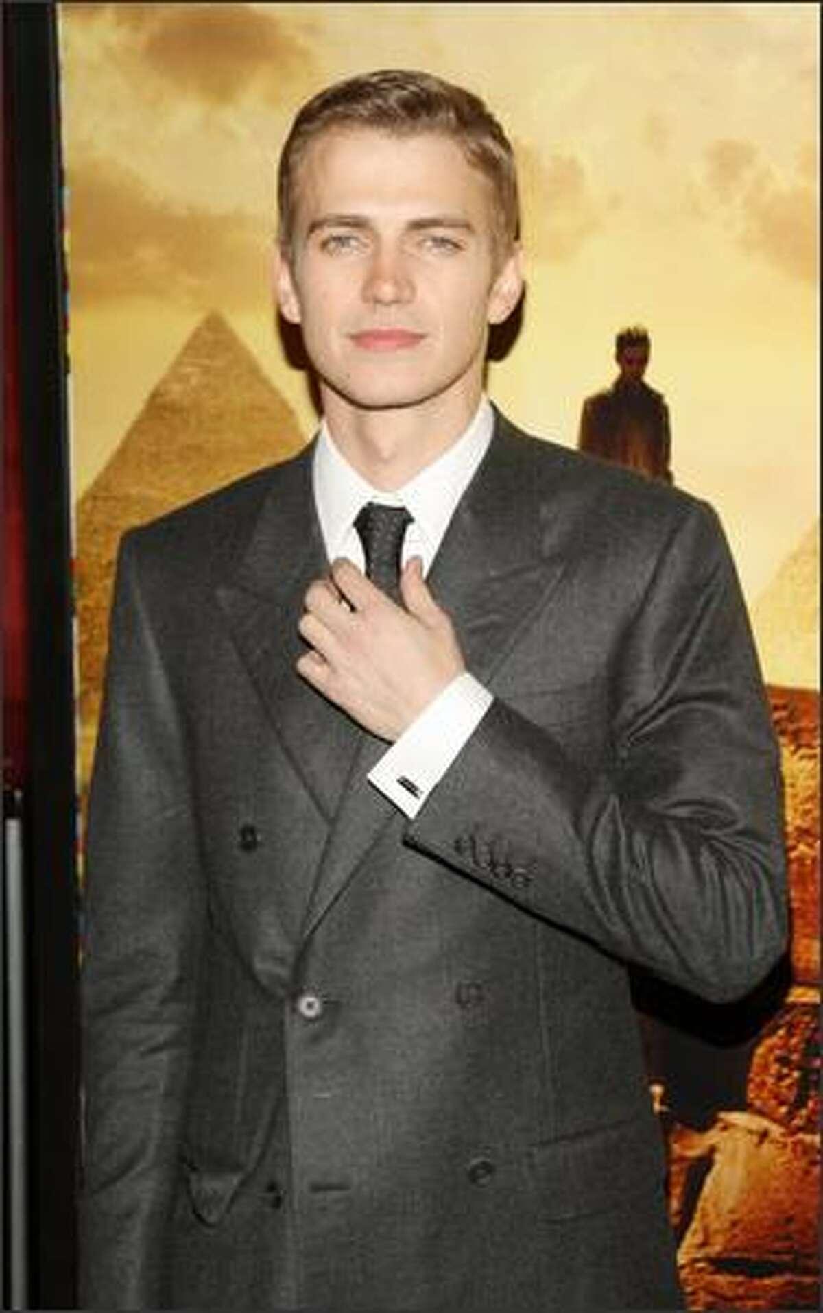 Actor Hayden Christensen attends the premiere of