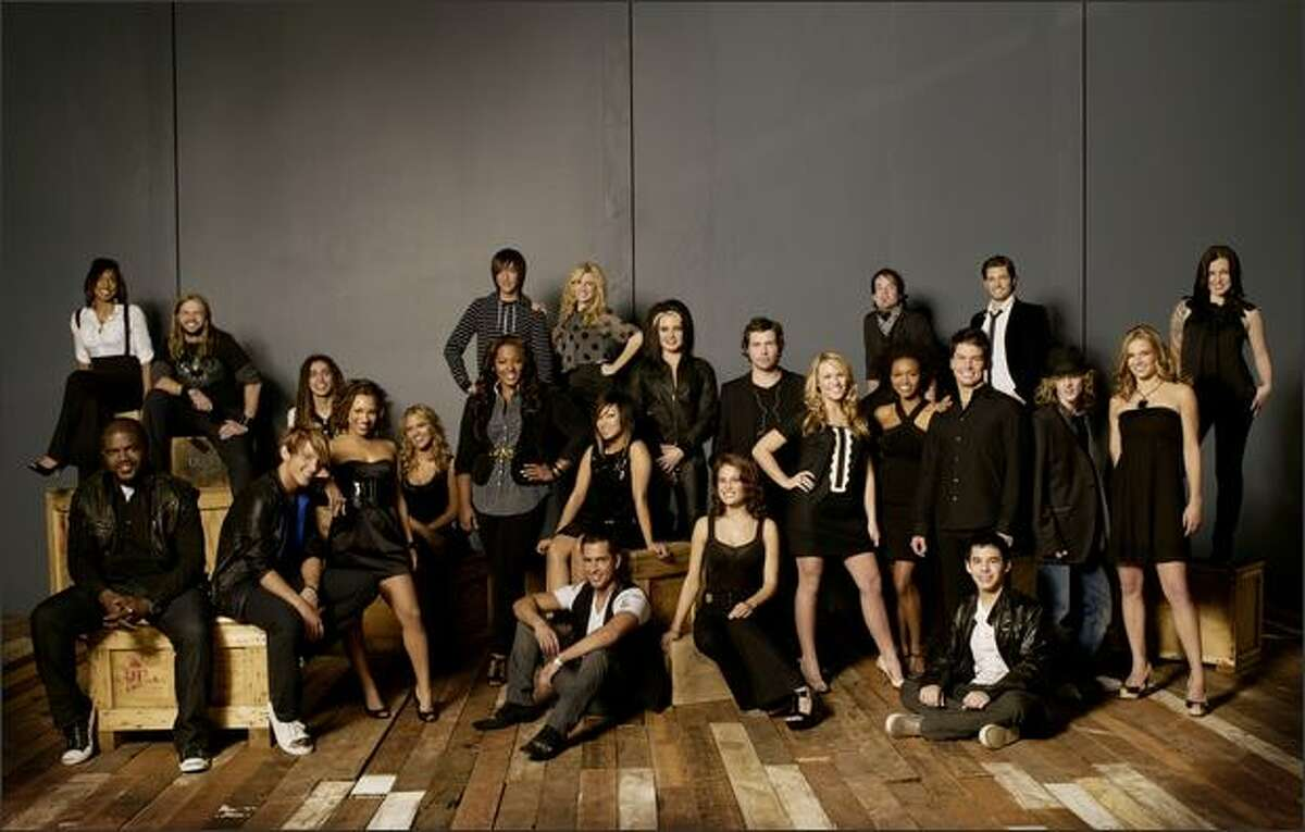 They are the top 24 contestants in the 2008 season of