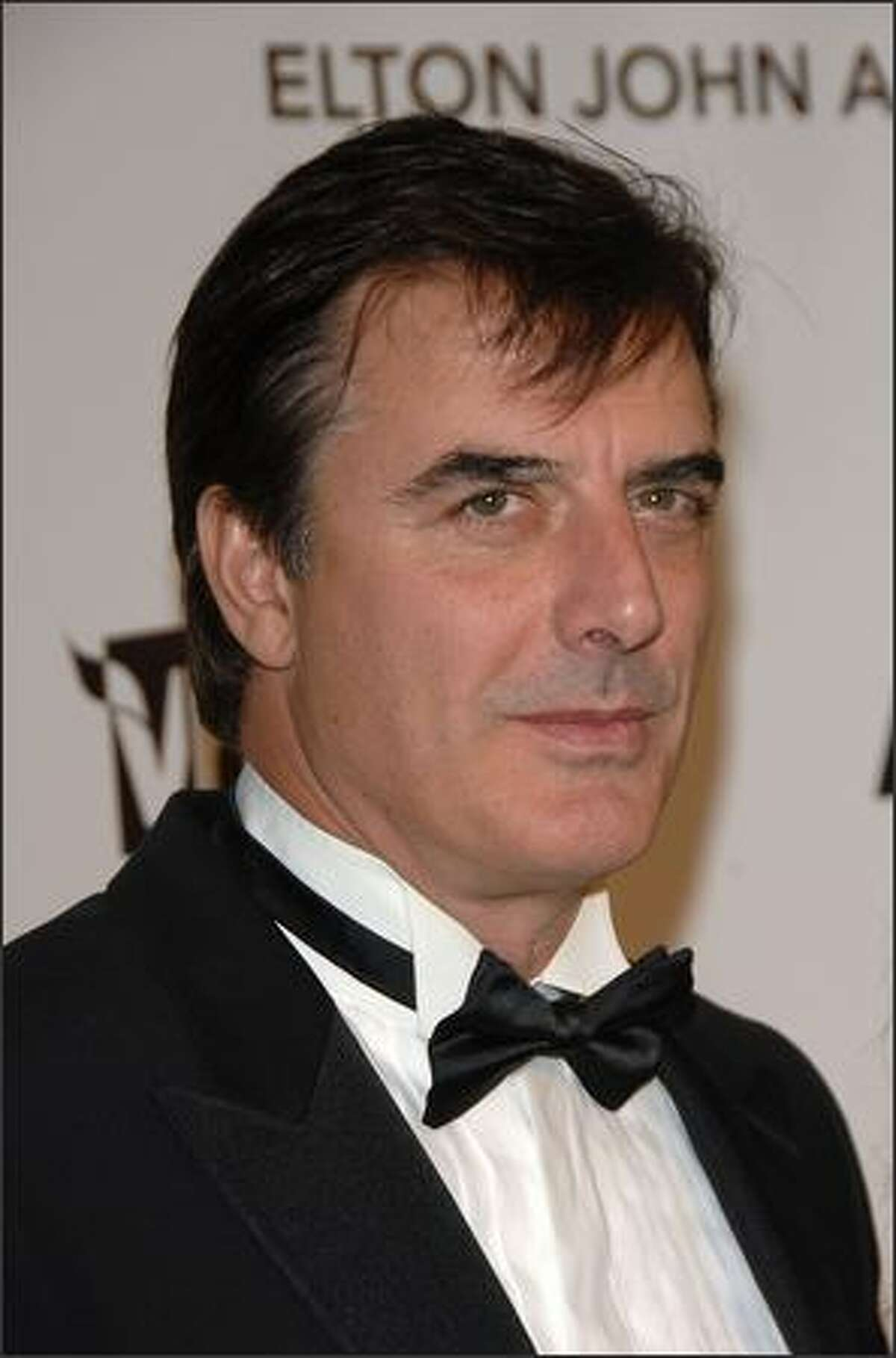 Actor Chris Noth attends the 16th Annual Elton John AIDS Foundation Academy Awards viewing party at the Pacific Design Center in West Hollywood, California.