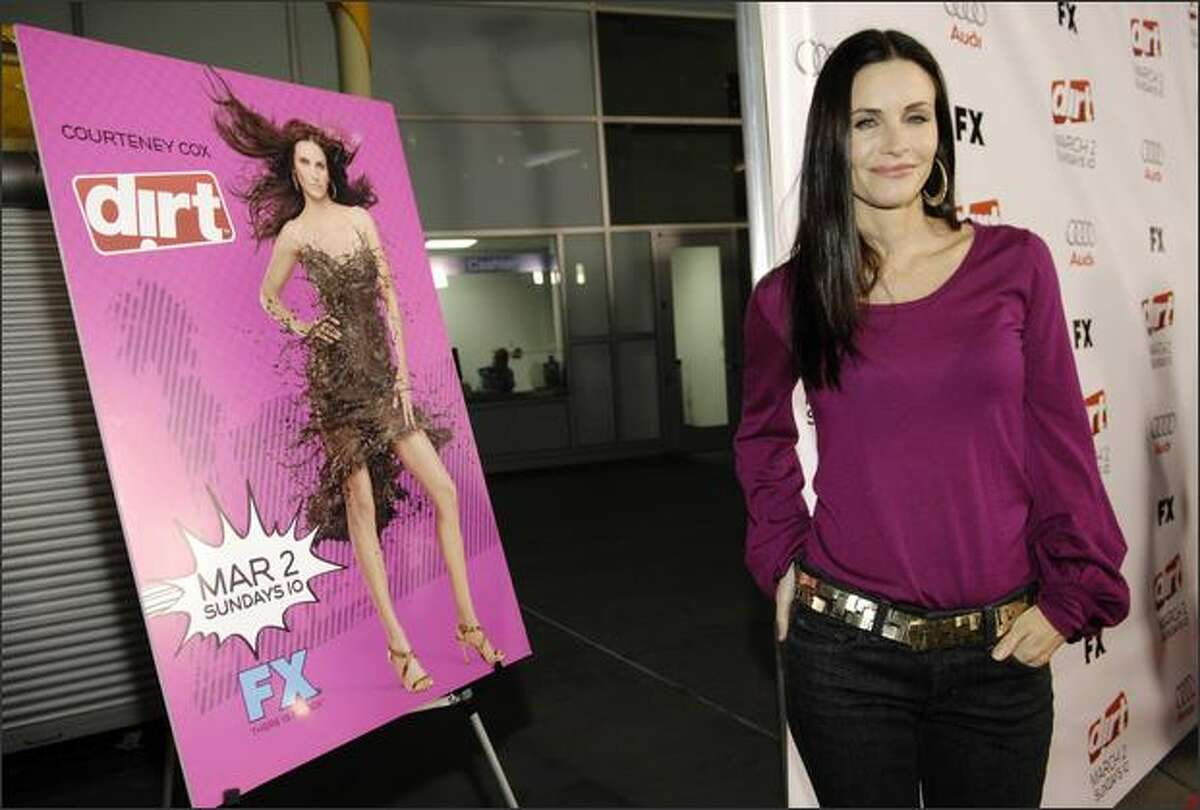Courteney Cox, star of the FX cable channel show,