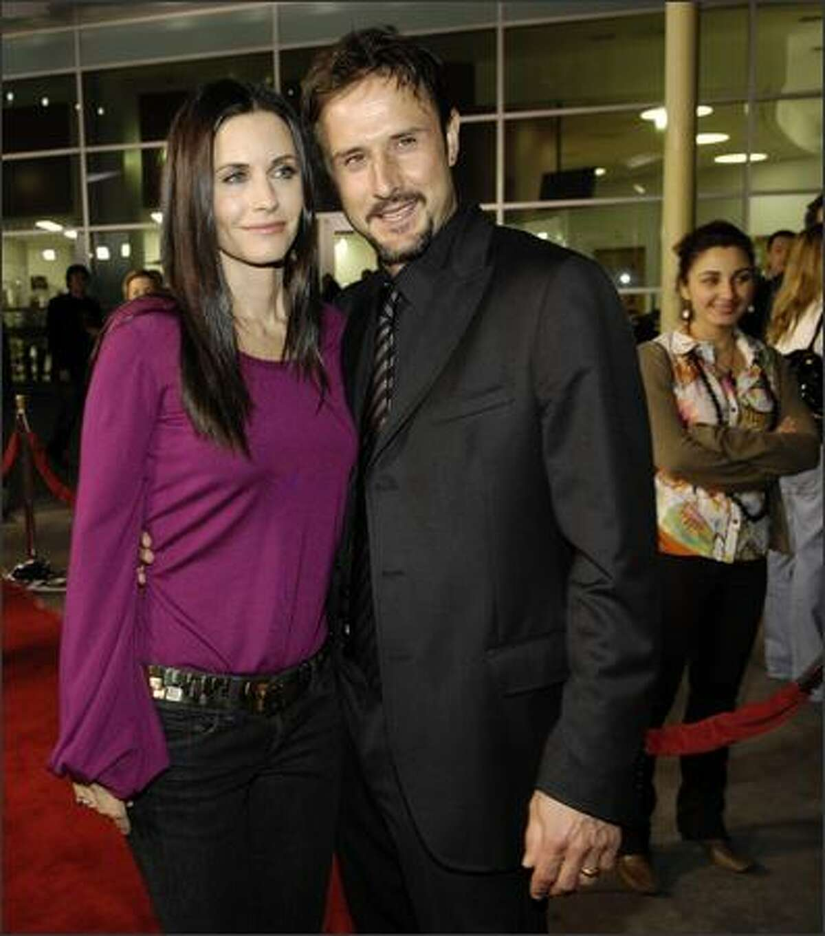 Courteney Cox, left, star of the FX show