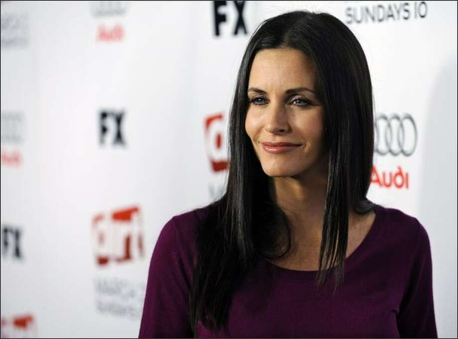 1995: Courteney Cox
