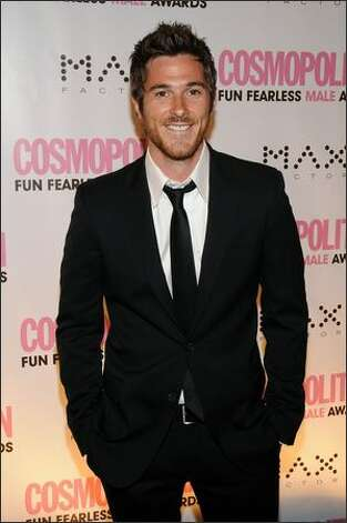 Actor Dave Annable arrives at the Cosmopolitan honors John Mayer as fun fearless male of the year event at Cipriani in New York City. Photo: Getty Images