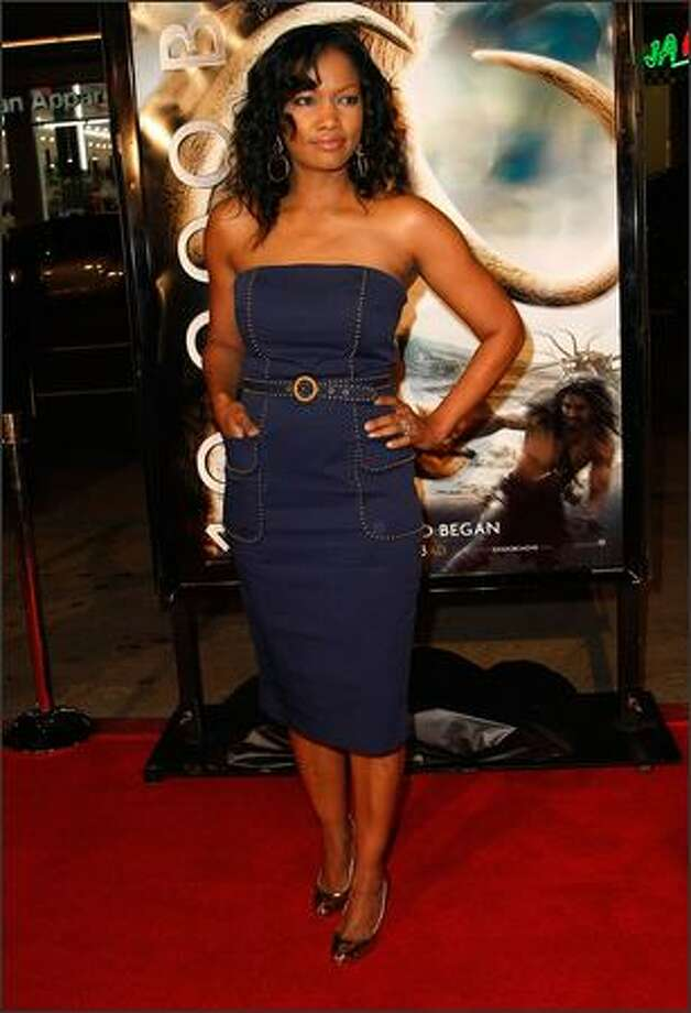 "Actress Garcelle Beauvais arrives at the premiere of ""10,000 B.C."" Photo: Getty Images"