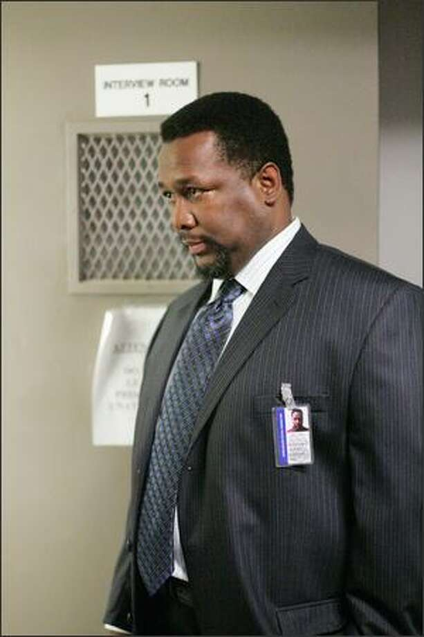 "Wendell Pierce in ""The Wire."" Photo: HBO"