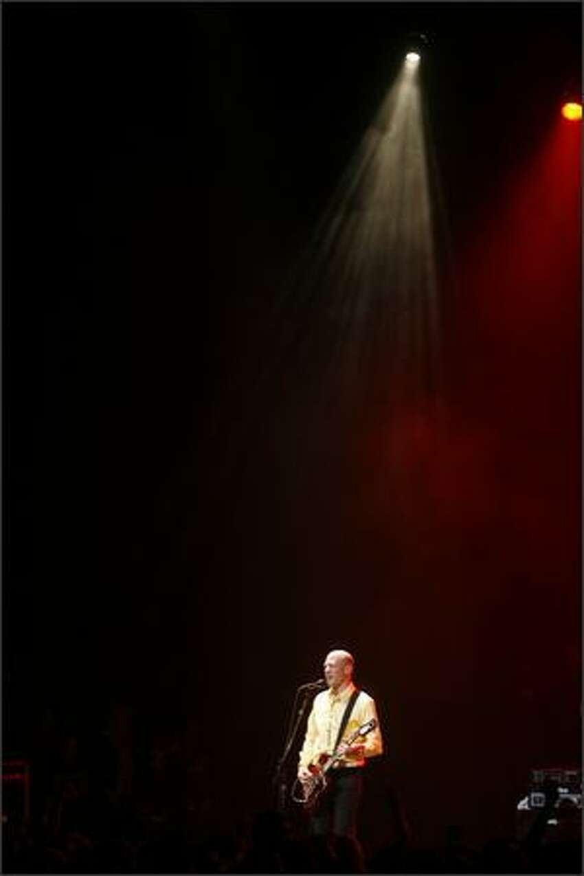 Chris Ballew performs as The Presidents of the United States of America play the Paramount Theatre in Seattle.