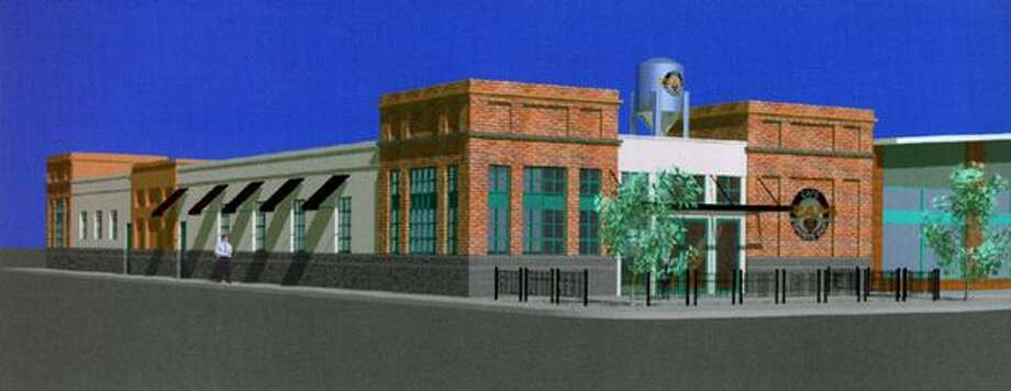 Everyone's favorite place for enormous amounts of food - The Ram - got a big remodel in 1998 in University Village. Here's the artist's rendering before the restaurant opened its new space.  Photo: P-I File