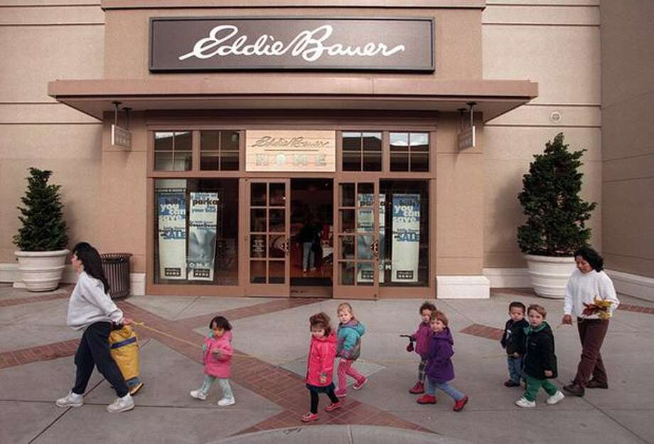 Eddie Bauer used to have a home furnishing section at U Village. Photo is from 1996.  Photo: P-I File