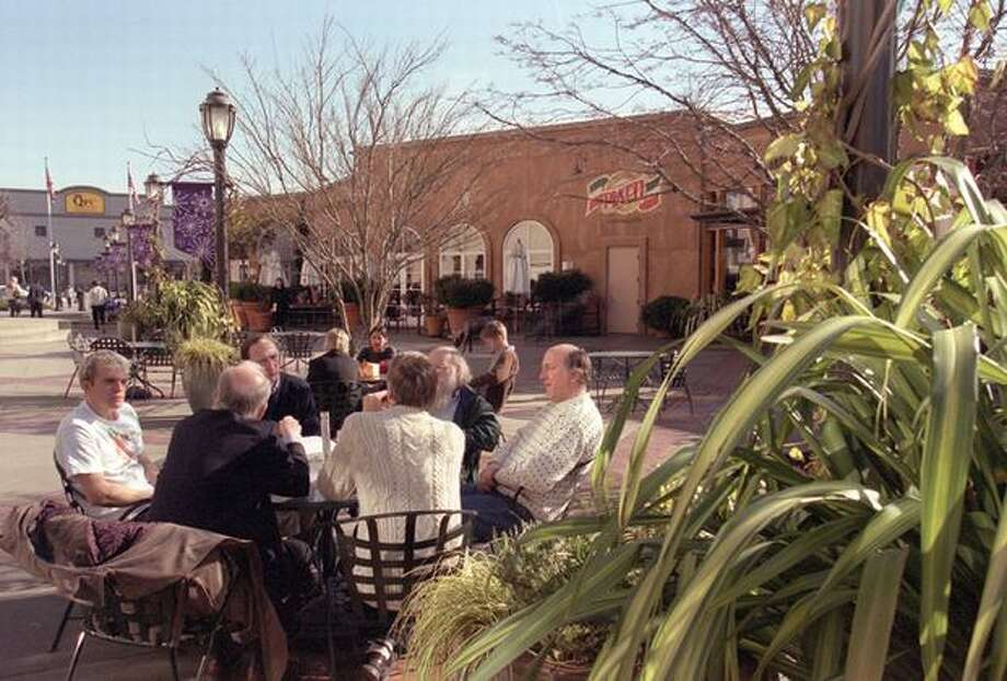 University Village in 2002, a year when the mall saw many changes.  Photo: P-I File