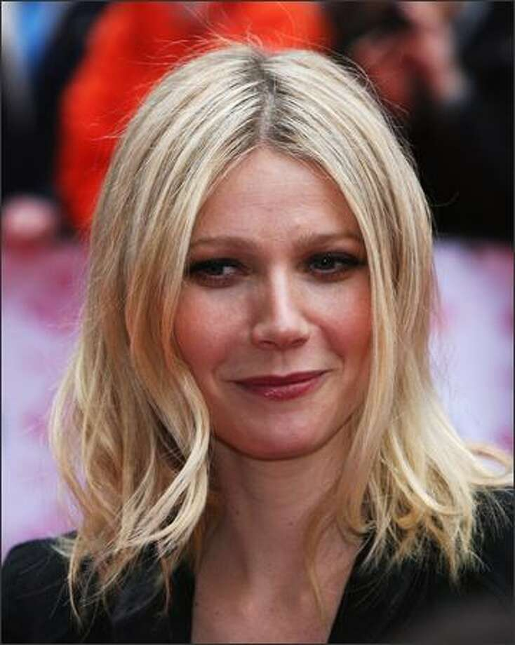 Actress Gwyneth Paltrow arrives at the The Prince's Trust Celebrate Success Awards at the Odeon Leicester Square in London, England. Photo: Getty Images