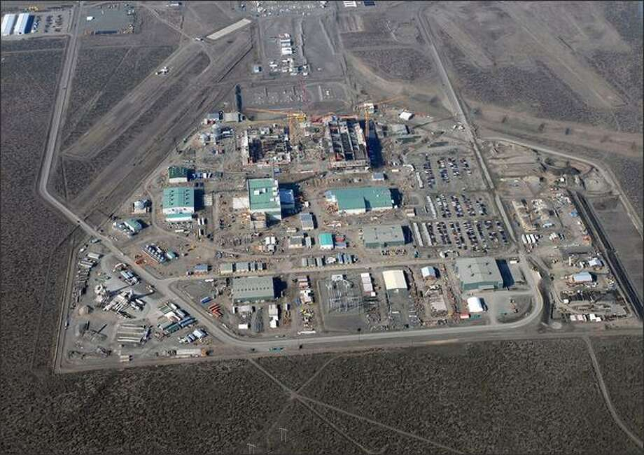 Hanford Nuclear Reservation, 2008.