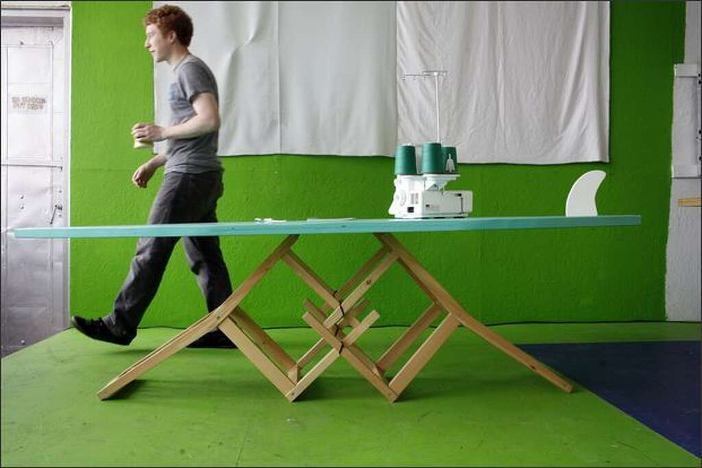 Founder of website Etsy.com and Ikea hacker, Rob Kalin has repurposed Ikea  furniture