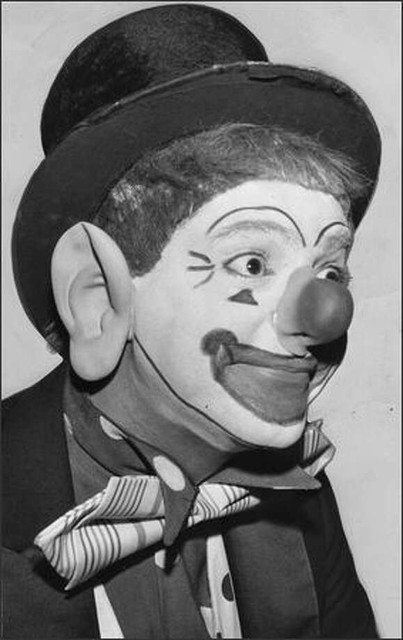 J.P. Patches (portrayed by Chris Wedes) in 1958. Photo: Seattle Post-Intelligencer