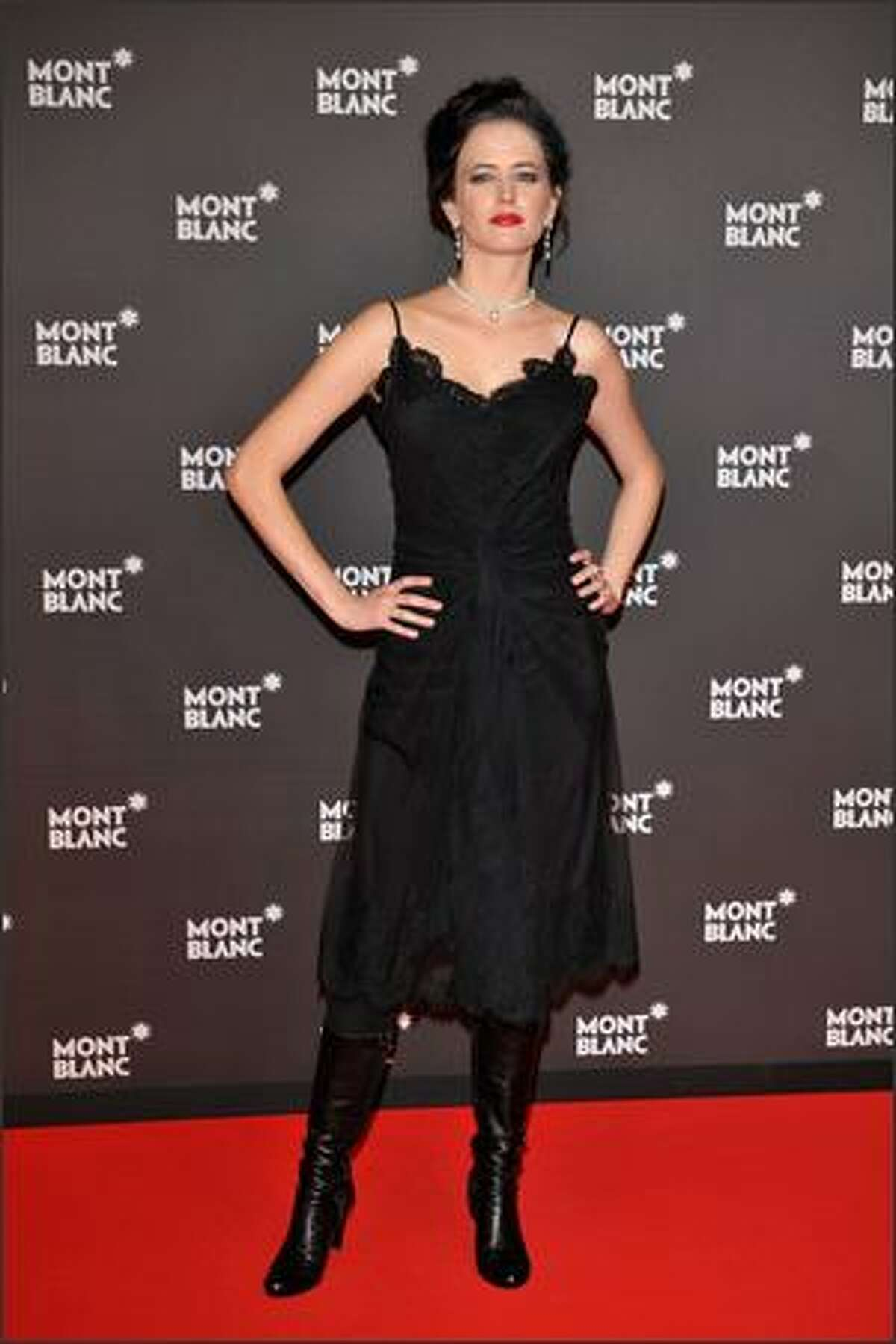 Actress Eva Green attends. (Photo by Pascal Le Segretain/Getty Images for Montblanc)
