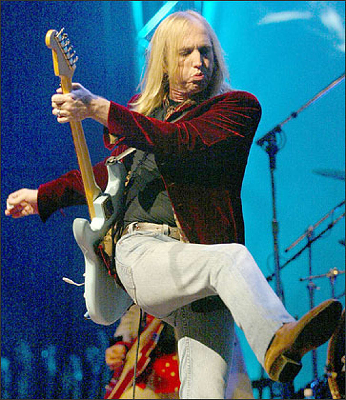 Tom Petty and the Heartbreakers perform at the Tacoma Dome Saturday night as part of the