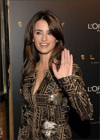 "Actress Penelope Cruz attends the premiere of ""Elegy"" on April 16, 2008 at Capitol cinema in Madrid, Spain. Photo: Getty Images"