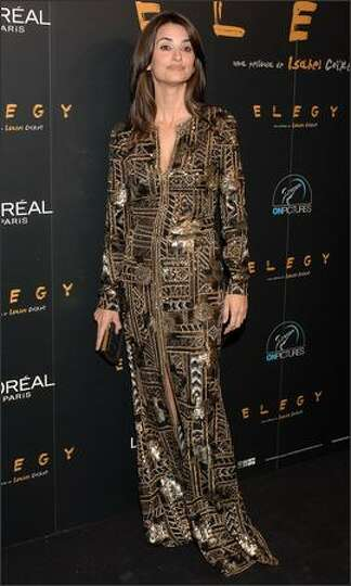 Actress Penelope Cruz attends the premiere of