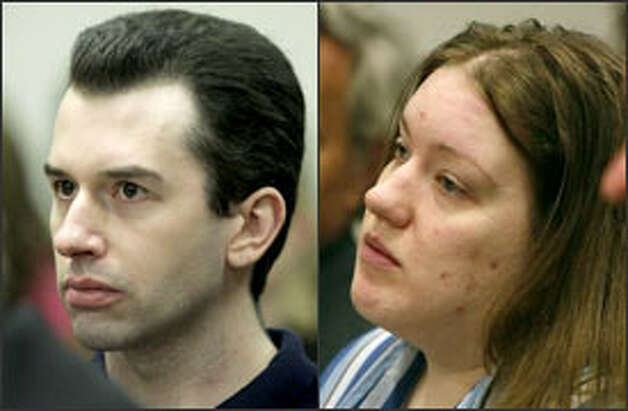 Joseph McEnroe and Michele Anderson appear in court this past summer. Photo: P-I File