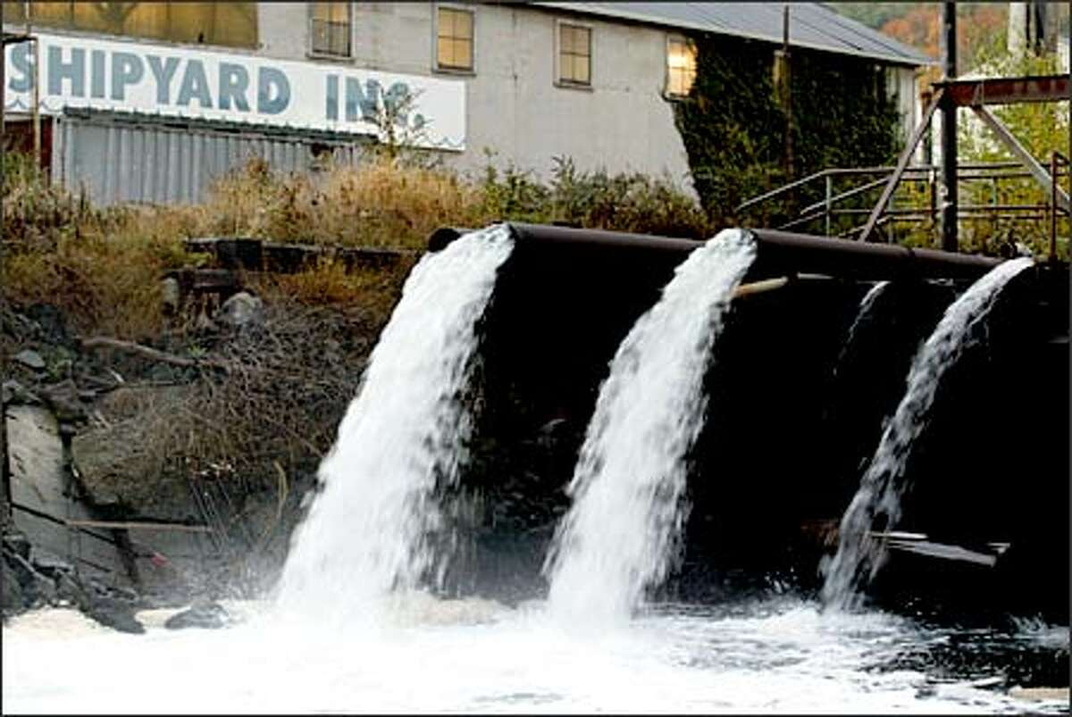 Clean water returns to the river from Duwamish Shipyard, which reached a deal in 1995 with Puget Soundkeeper Alliance to clean up its discharges.