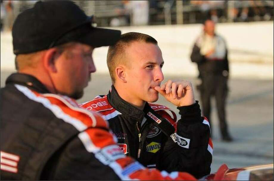 Tayler Malsam, ninth this year in the ARCA Re/Max Series, hopes to race NASCAR trucks in 2009. Photo: Penske Racing Photo