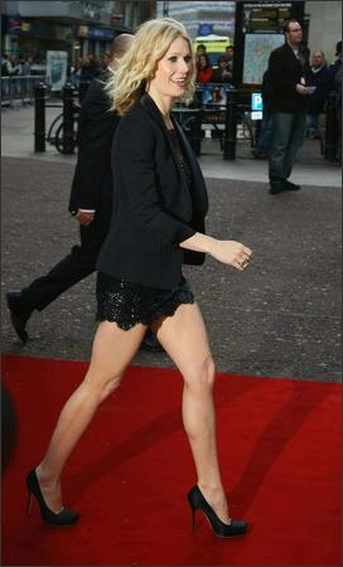 Actress Gwyneth Paltrow attends the UK Charity Premiere of
