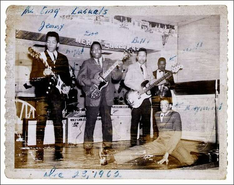 Jimi Hendrix performing with the King Kasuals, Dec. 23, 1962. Part of the the EMP's