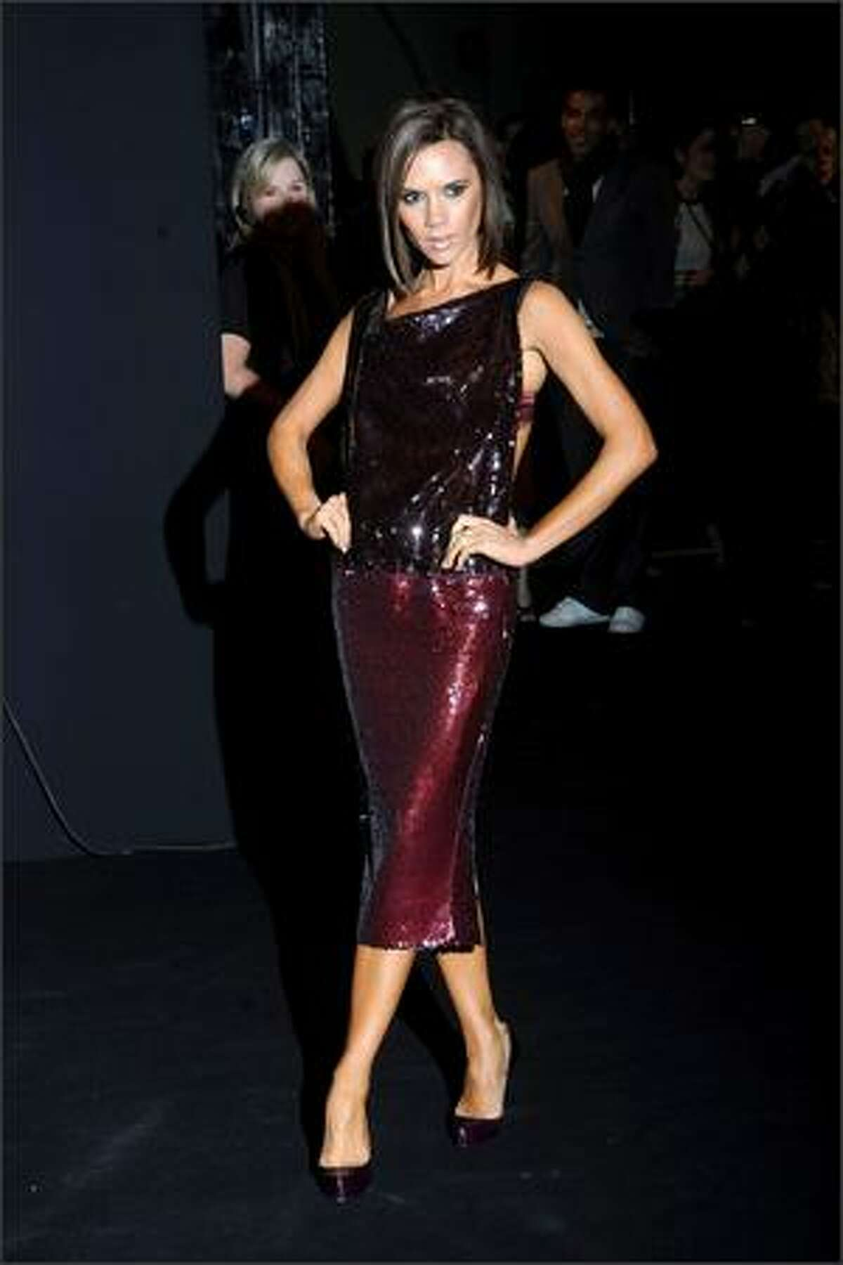 No. 99: Singer Victoria Beckham (photo taken February 2008).