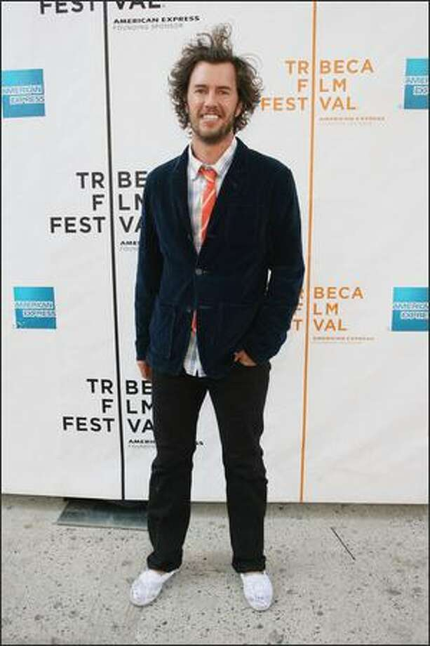 "Director Blake Mycoskie attends the premiere of the shorts program ""All Truisms"" during the 2008 Tribeca Film Festival in New York. Photo: Getty Images"