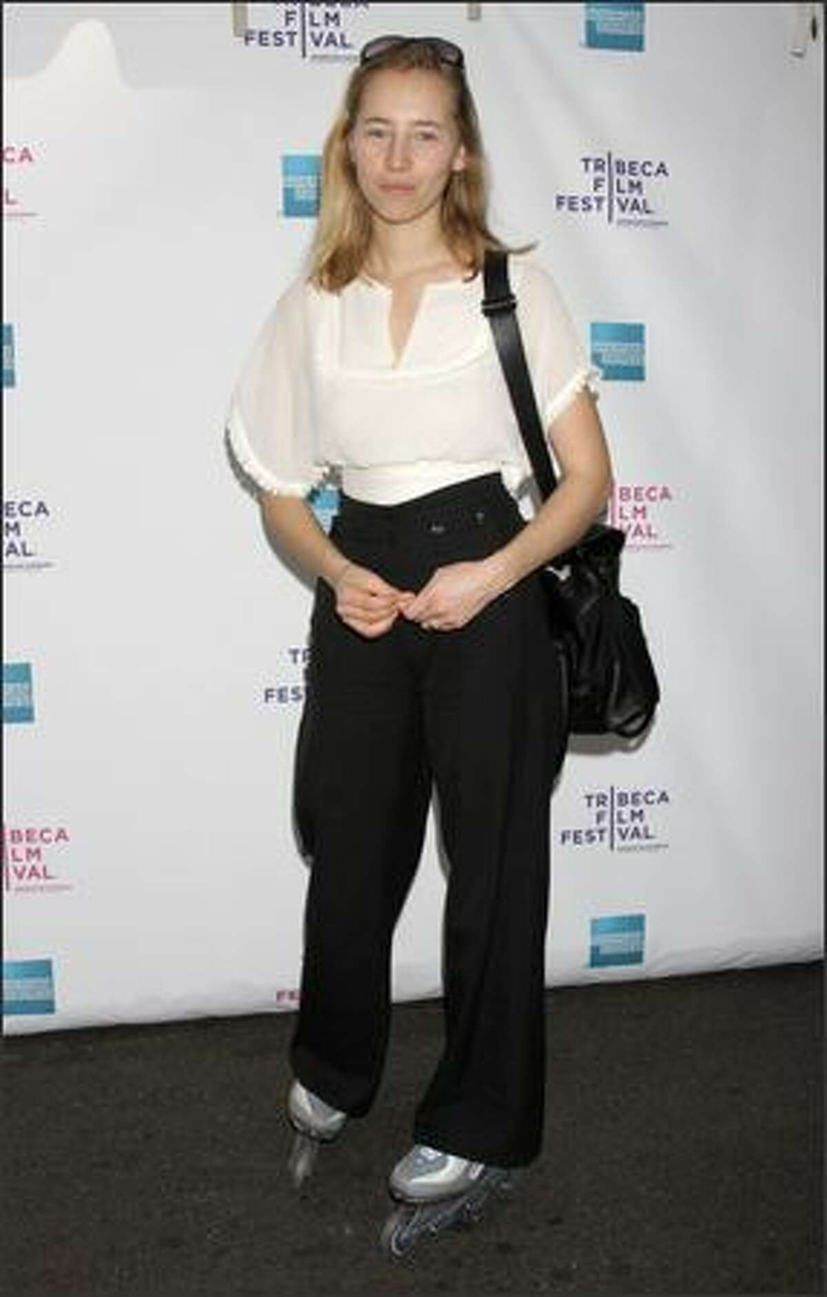 Director Isild le Besco attends the premiere of