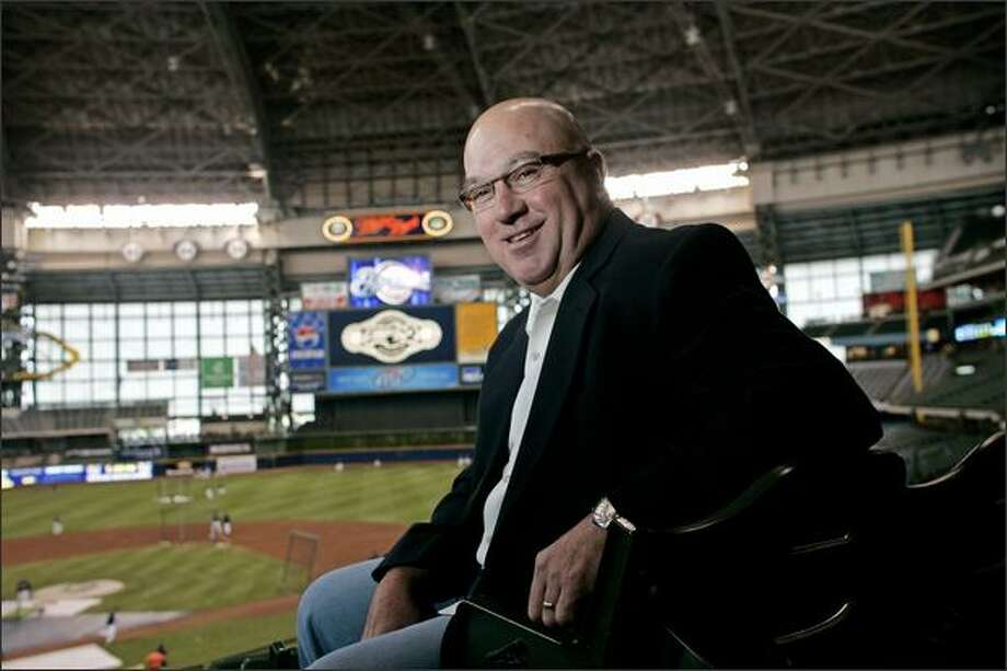 Jack Zduriencik poses before the start of a game between the Arizona Diamondbacks and Milwaukee Brewers on June 3 in Milwaukee. He has been named general manager of the Mariners.  (AP Photo/Darren Hauck) Photo: / Associated Press