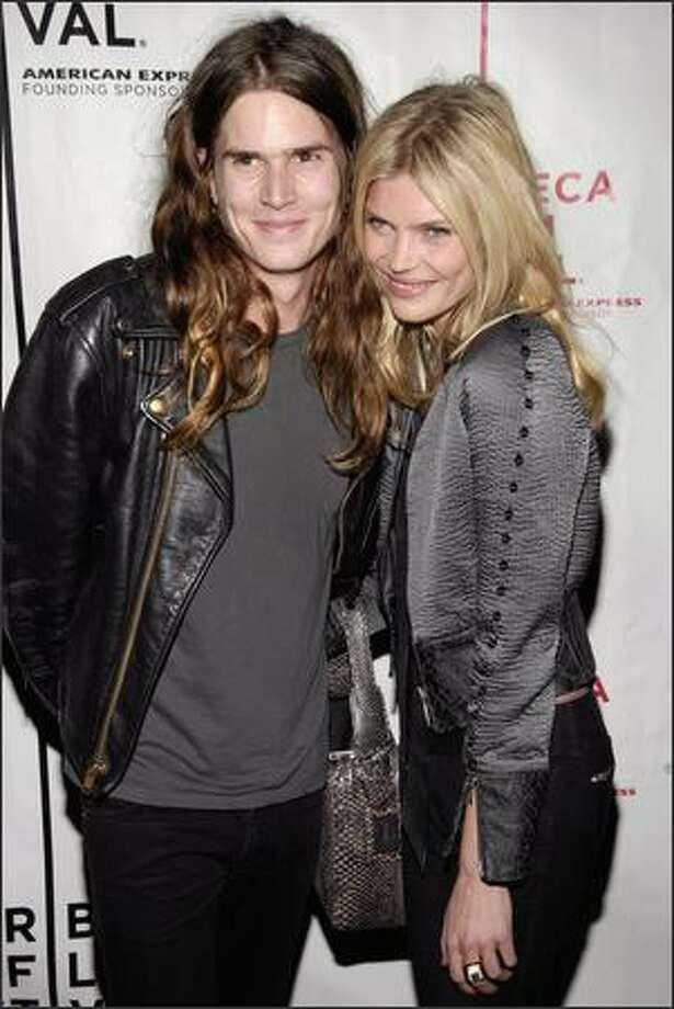 Jaime Burke(left), who is a singer/songwriter slash model. Photo: Getty Images