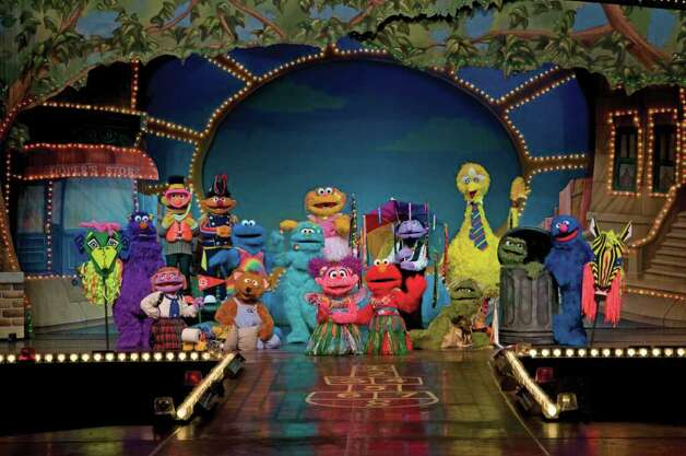 "Sesame Street Live ""1-2-3 Imagine! with Elmo & Friends"" comes to the Webster Bank Arena at Harbor Yard in Bridgeport Thursday, March 31 to Sunday, April 3. Photo: Contributed Photo / Connecticut Post Contributed"
