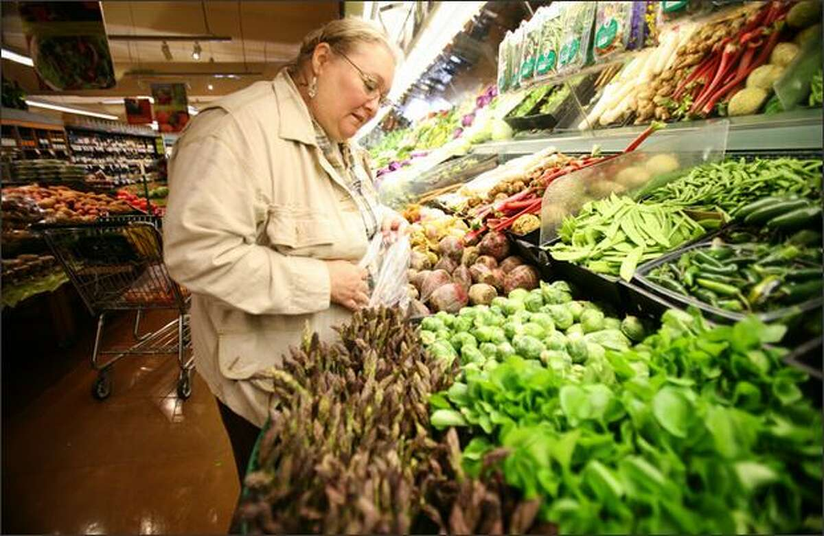 Rathbun buys organic produce as often as she can afford it.