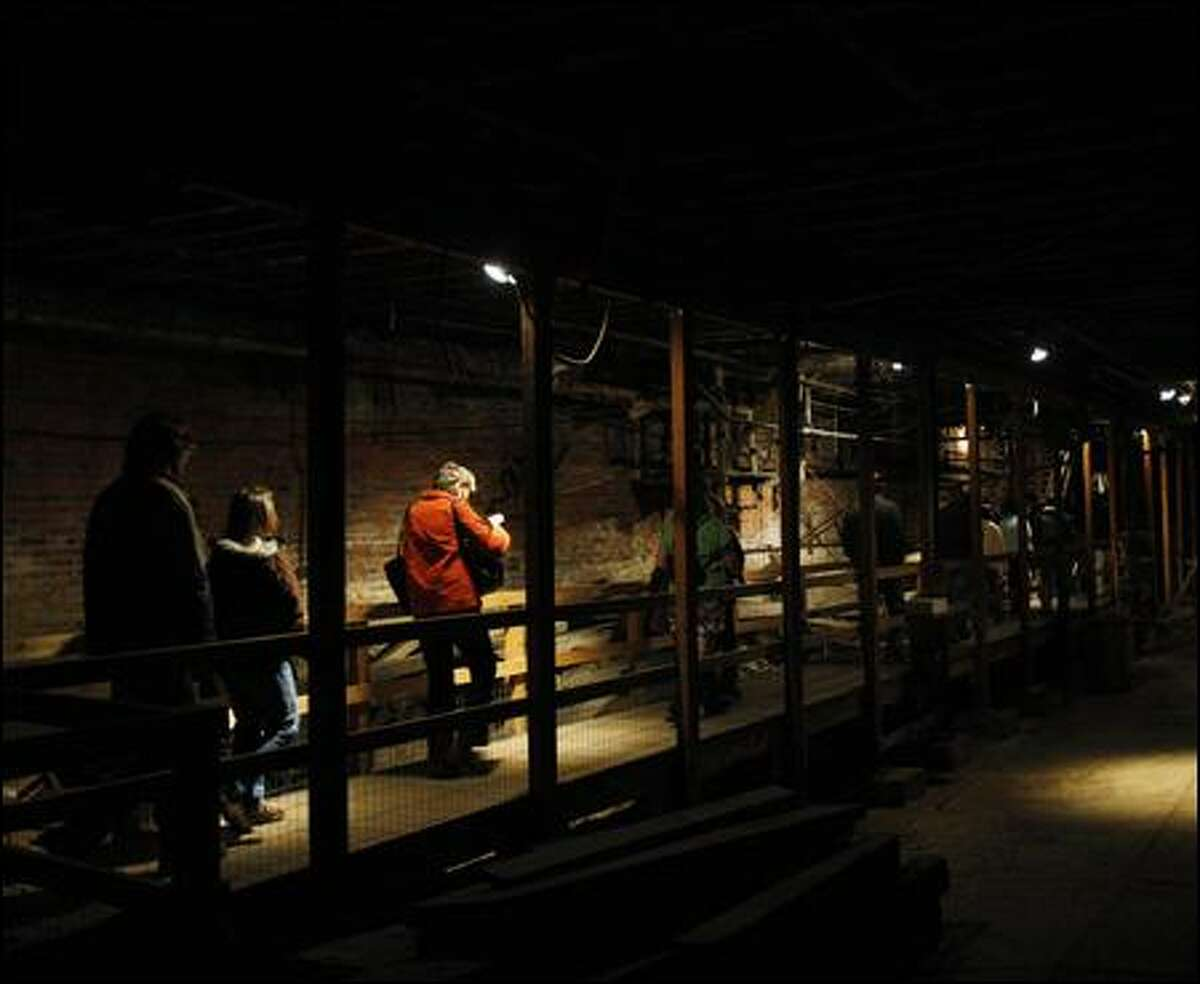 The Underground Tour is more like an archaeological dig made safe and accessible to sure-footed walkers who revel in rubble.