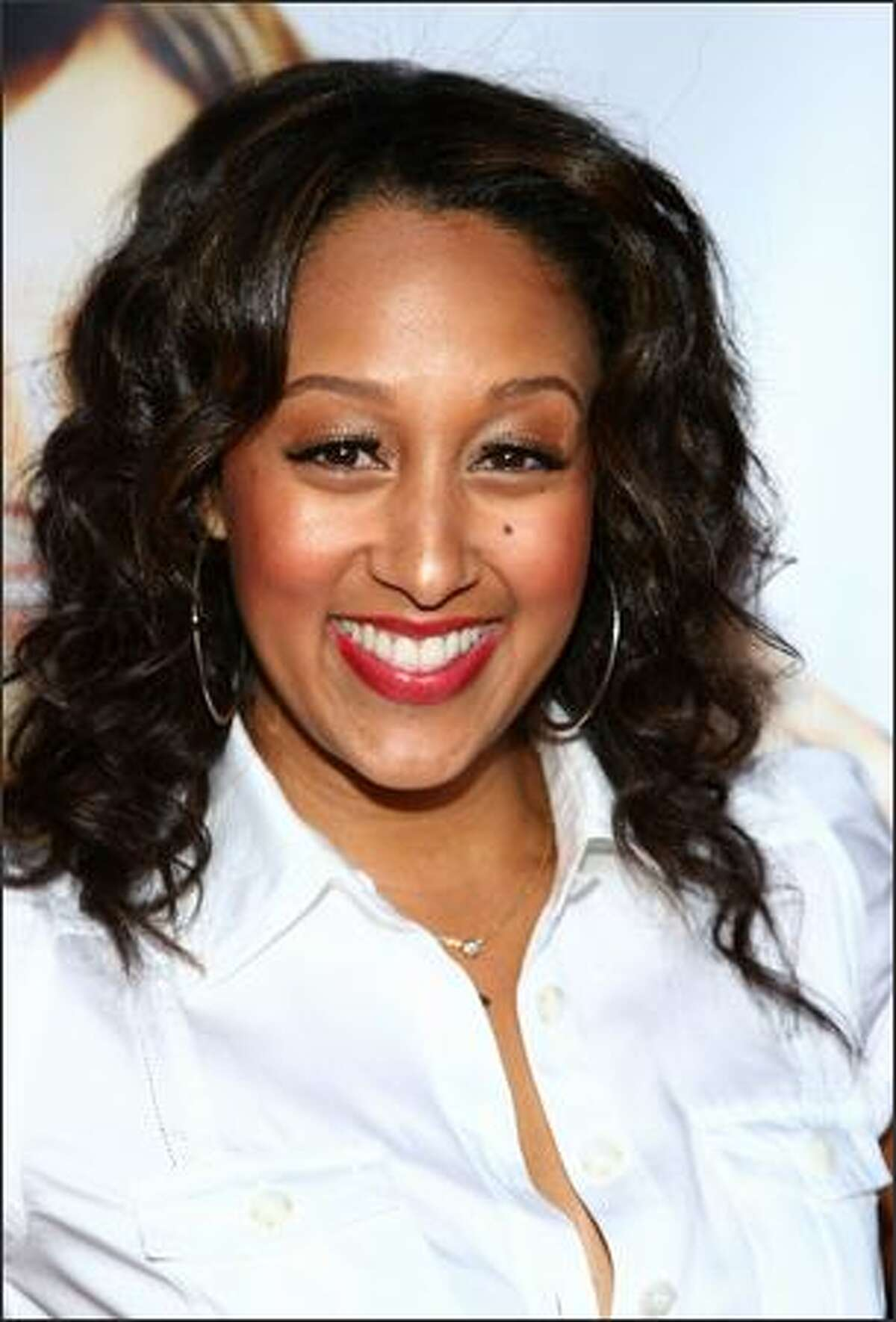 Actress Tamera Mowry arrives to the
