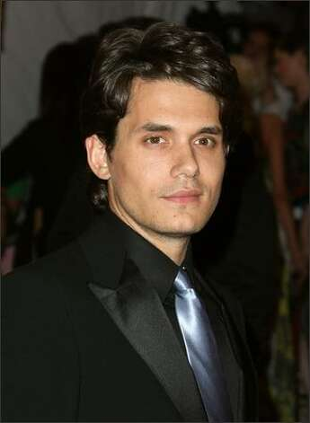 Musician John Mayer arrives. Photo: Getty Images
