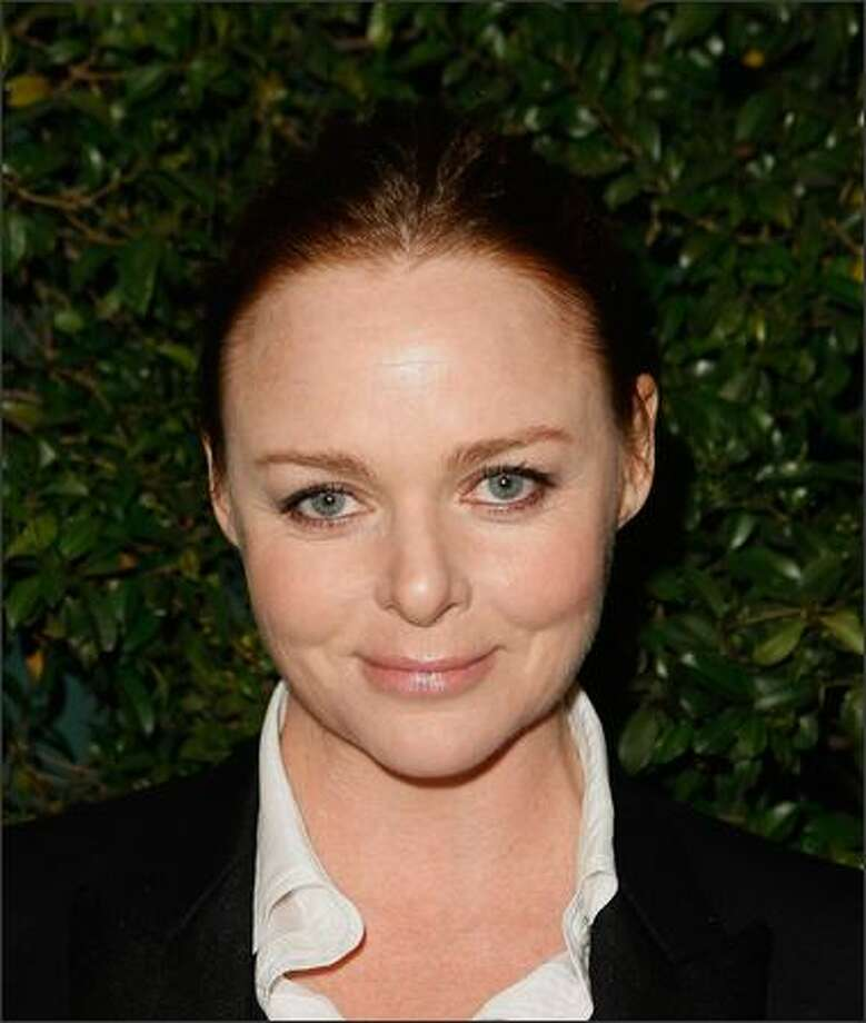 "Designer Stella McCartney arrives at the screening of ""The Party"" at the Stella McCartney Boutique on Tuesday in Los Angeles, Calif. Photo: Getty Images"