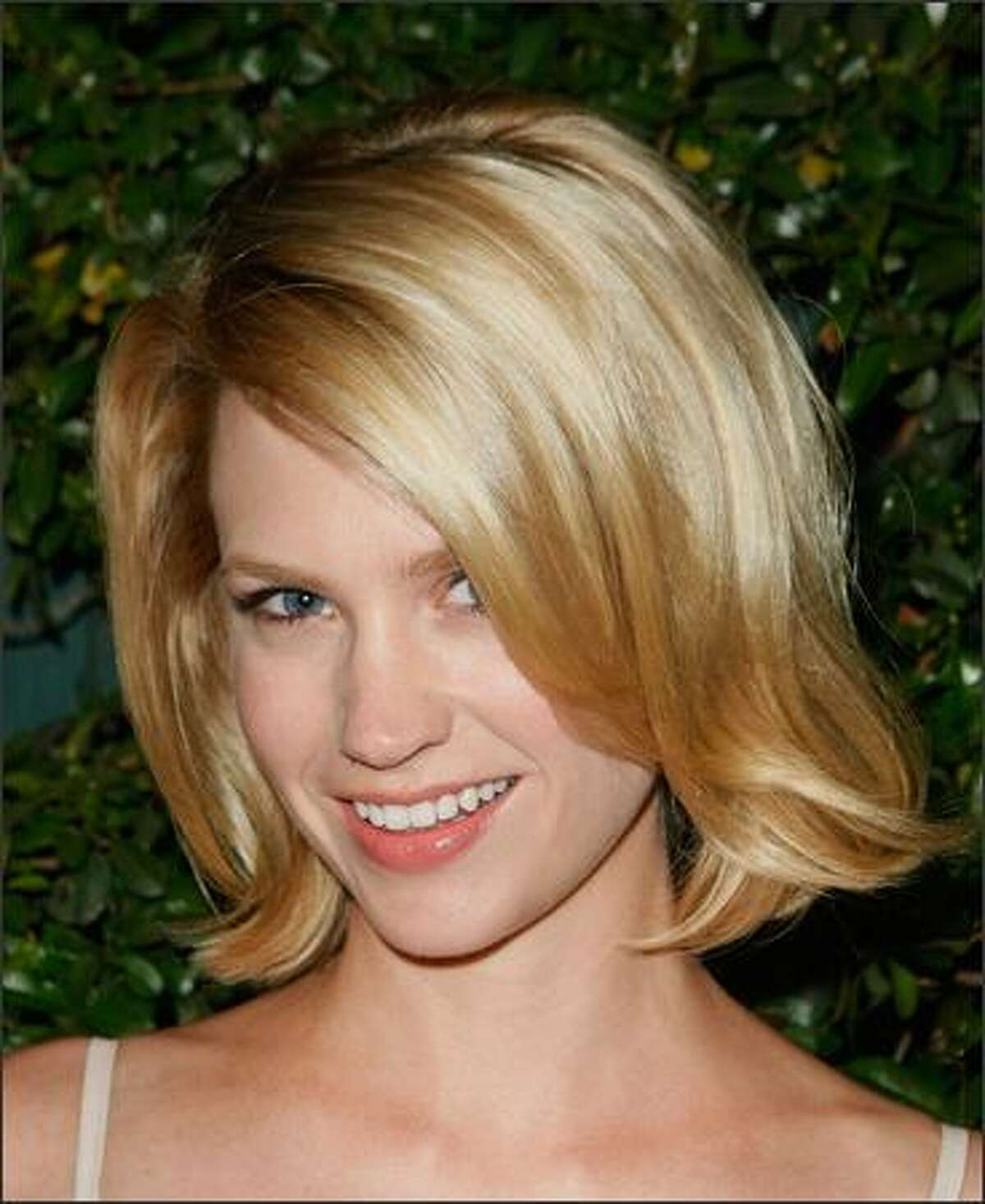 Actress January Jones arrives at the screening of