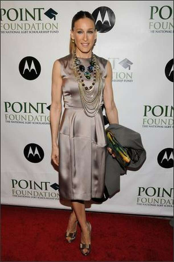 This is the second in an occasional series featuring stars and their ever-changing fashion styles. Sarah Jessica Parker arrives at the Point Foundation hosts Point Honors ... The Arts at Capitale in New York on April 7, 2008. Photo: Getty Images