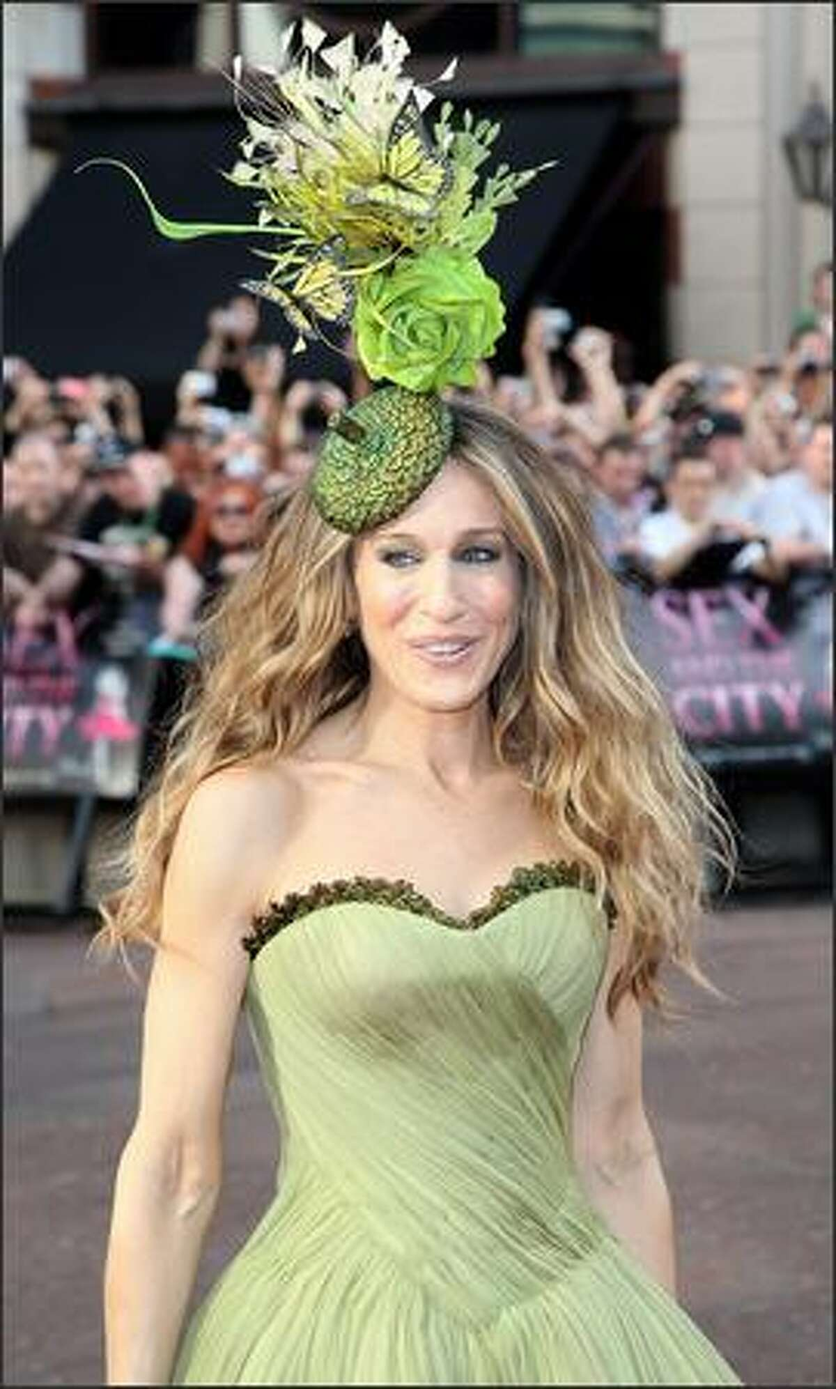 Actress Sarah Jessica Parker arrives at the world premiere of
