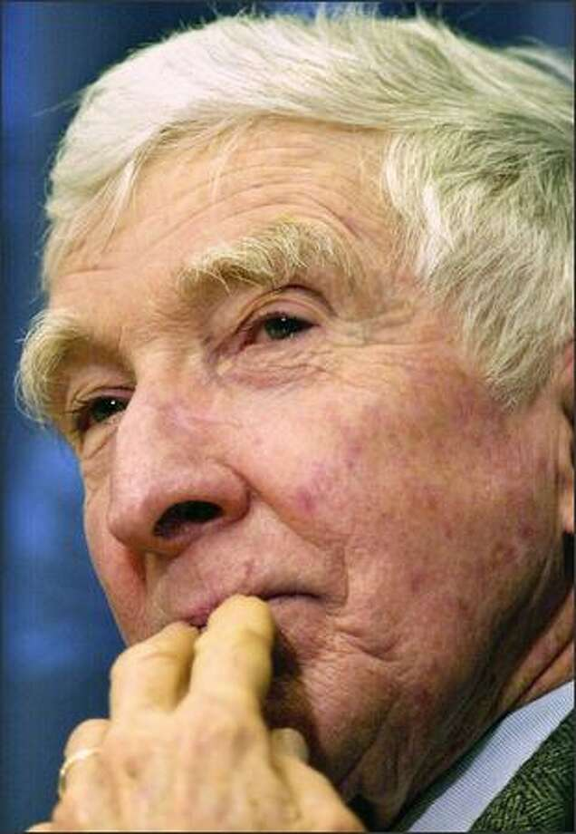 "Revered literary figure John Updike writes: ""With ominous frequency, I can't think of the right word."" Photo: / Getty Images"