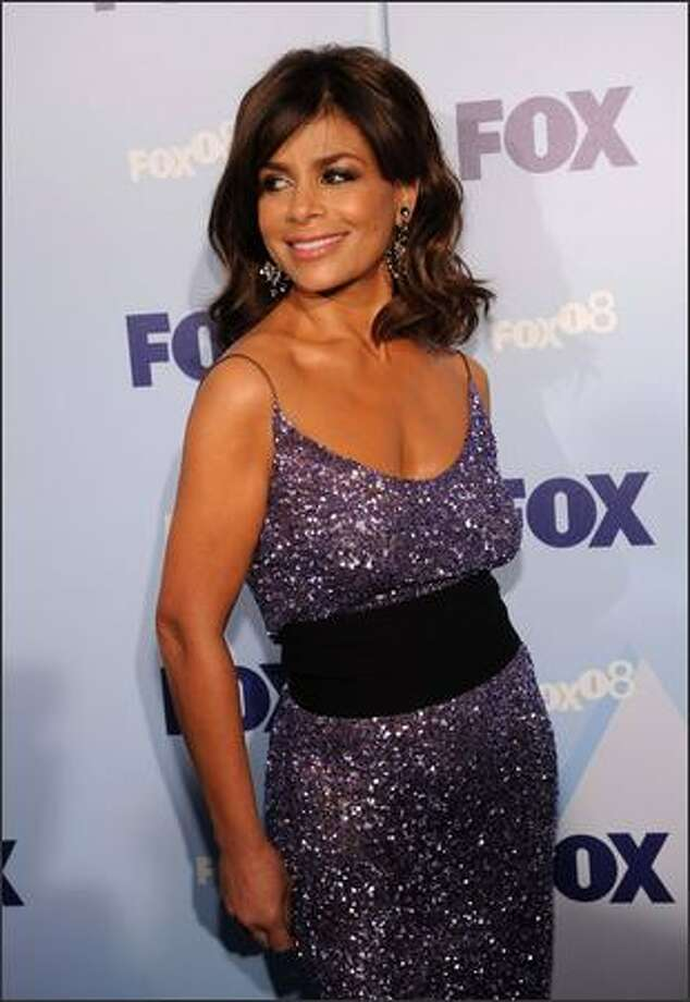 Television personality Paula Abdul attends the 2008 FOX Upfront at the Wollman Rink in Central Park on Thursday in New York City. Photo: Getty Images