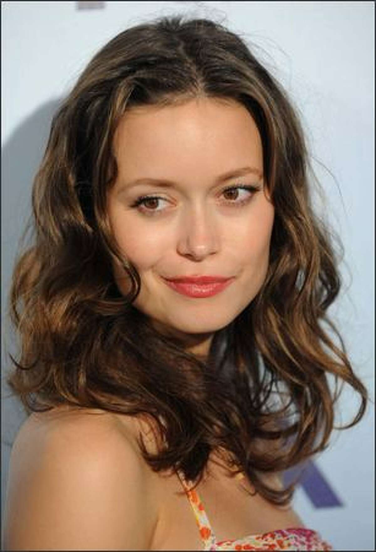 Actress Summer Glau attends the 2008 FOX Upfront at Wollman Rink in Central Park on Thursday in New York City.