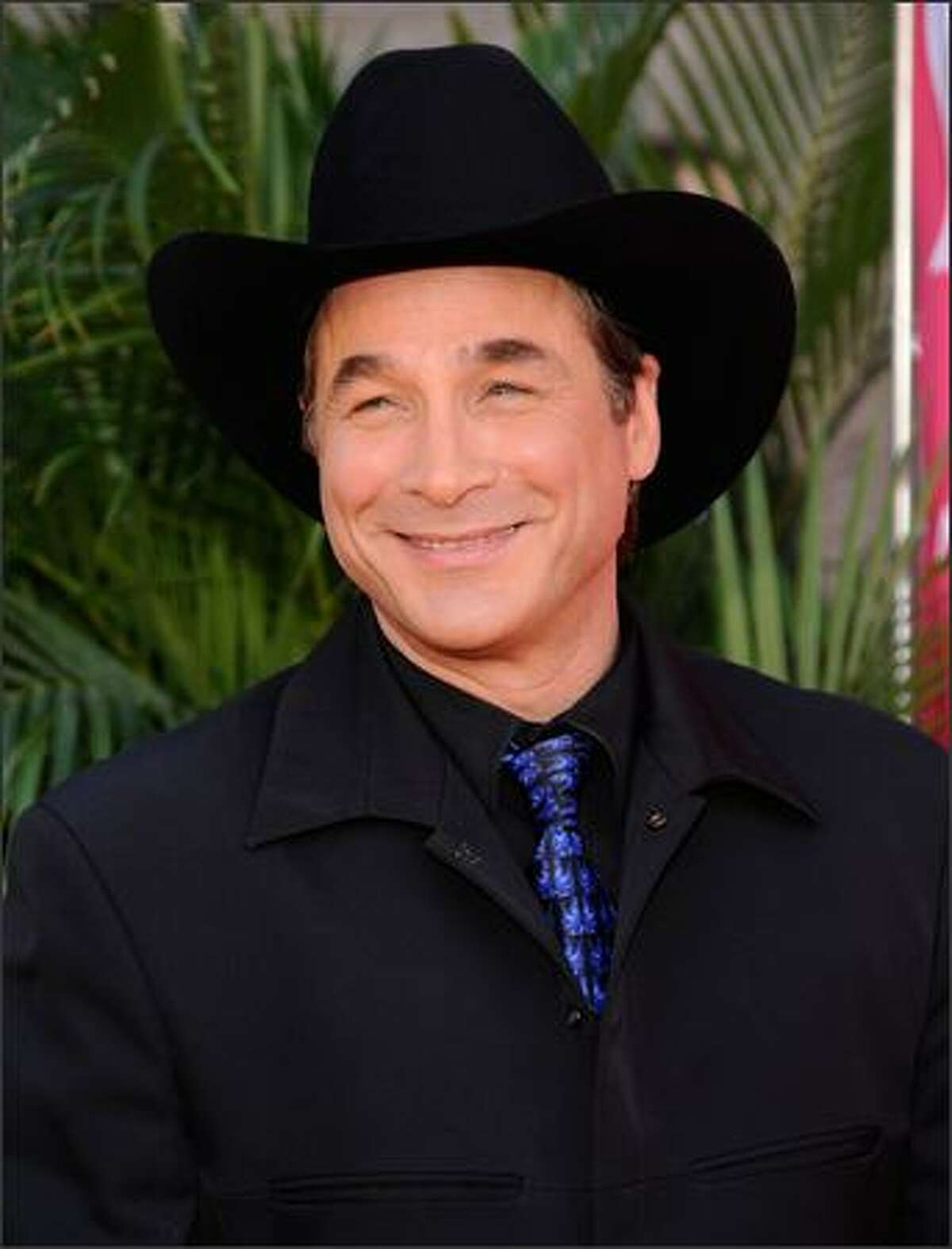 Musician Clint Black arrives at the 43rd annual Academy of Country Music Awards in Las Vegas.